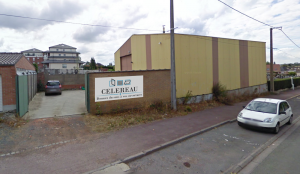 Façade de l'entreprise CELEREAU à Roncq