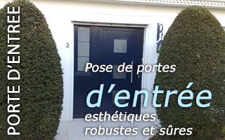 Portes dentrees portes fen tres volets stores for Garage rue du dronckaert roncq