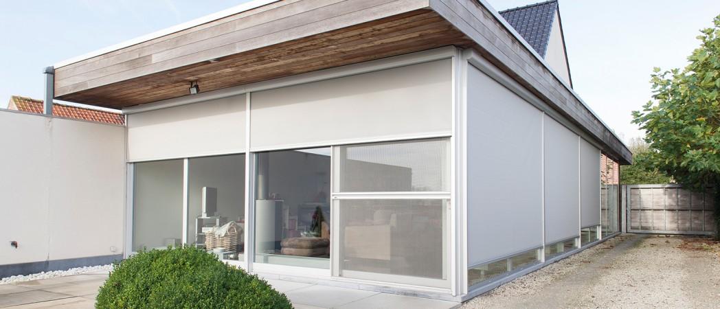 Protection solaires verticales par celereau roncq for Garage rue du dronckaert roncq